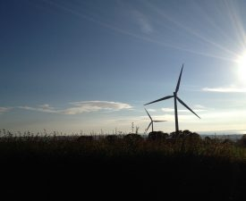 Wind turbine, Cumbria